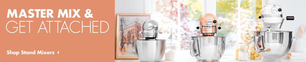 Kitchenaid Attachments mixers & attachments - kitchenaid & hamilton beach hand blenders