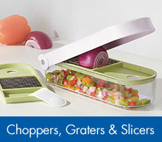 Choppers, Graters & Slicers