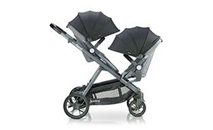 Image of double capacity stroller