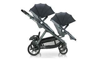 Image of triple capacity stroller