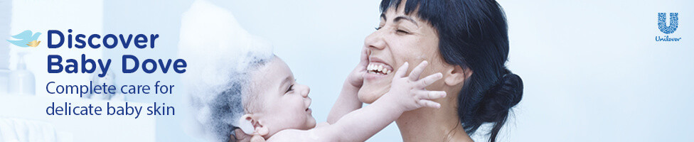 Discover Baby Dove. Complete care for delicate baby skin.