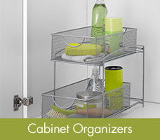 Shop Cabinet Organizers