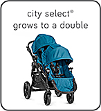 Baby Jogger - City Select Grows to A Double