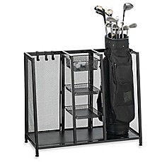 Metal Two Bag Golf Organizer
