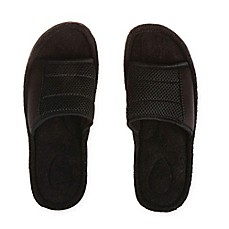 Therapedic® Men's Slide Slipper in Black