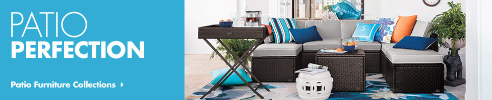 patio furniture sets - chair pads, seat cushions & more - bed bath