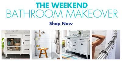 Shop Bathroom Makeover