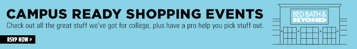 Campus Ready Shopping Event Banner