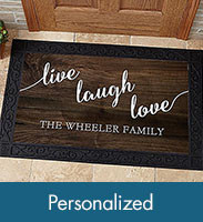 Shop Personalized Door Mats