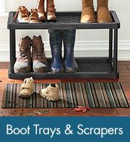 Shop Boot Trays & Scrapers