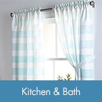 Shop Kitchen & Bath Curtains