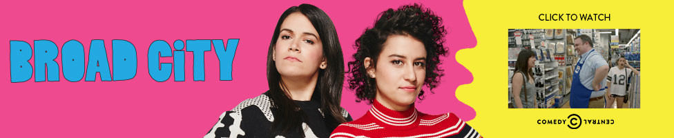 Broad City Video - opens in new window