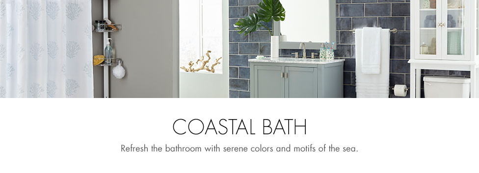Costal Bathroom Decor: Coastal Bathroom Accessories
