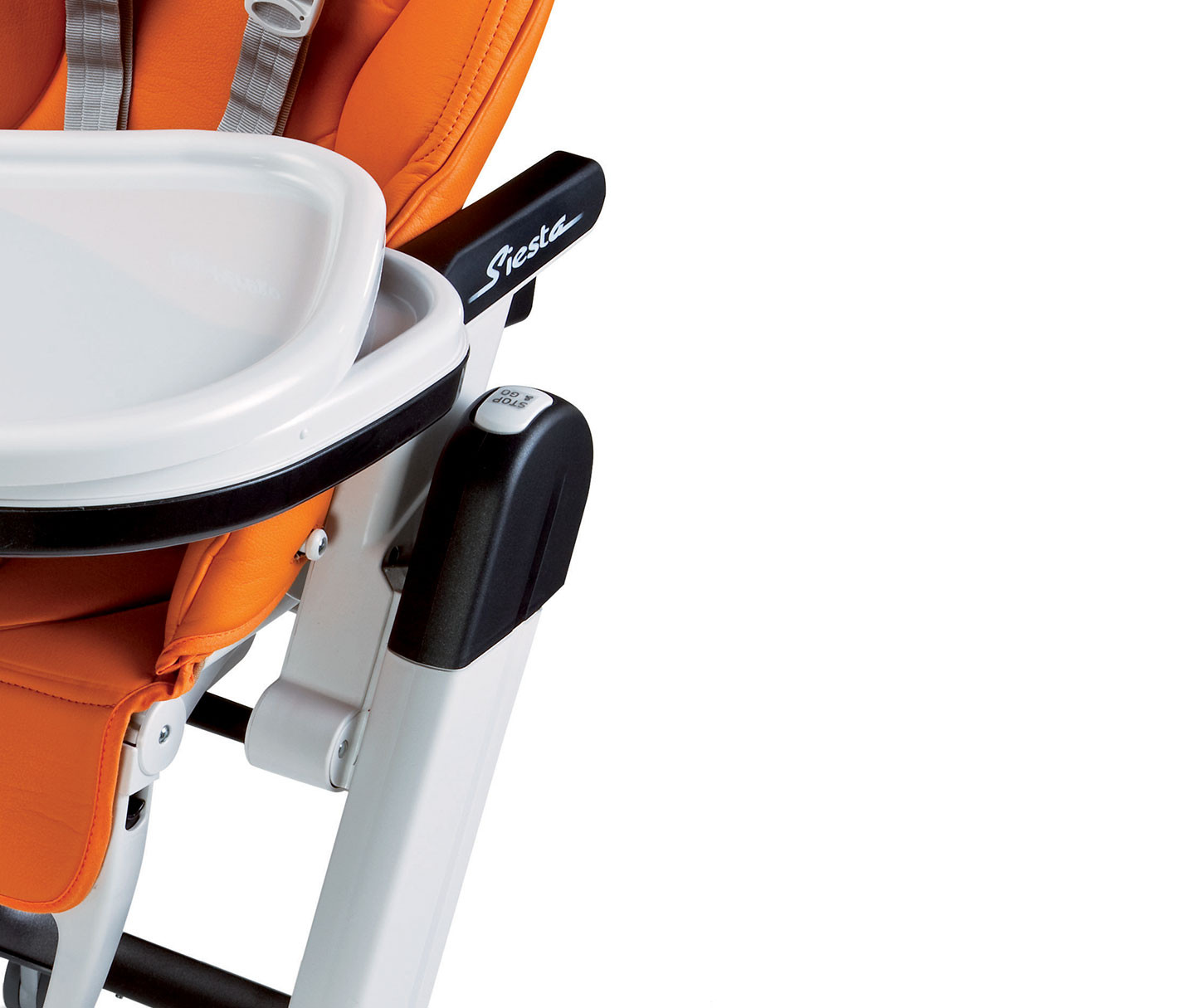 Peg Perego Siesta High Chair In Arancia Orange Buybuy Baby