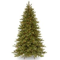 National Tree Company 7.5-Foot Yukon Fir Christmas Tree with Clear Lights