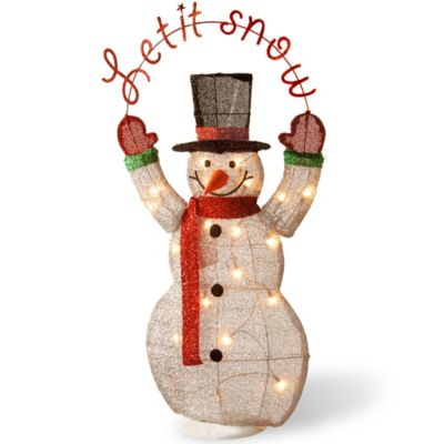 Completely new Buy Snowman Decor from Bed Bath & Beyond NR13