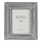 Burnes of Boston 5-Inch x 7-Inch Wood Picture Frame in Grey