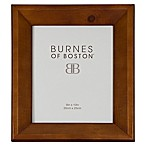 Burnes of Boston 8-Inch x 10-Inch Angled Wood Picture Frame in Walnut