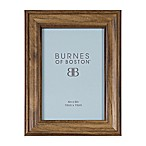Burnes of Boston 4-Inch x 6-Inch Basic Picture Frame in Walnut