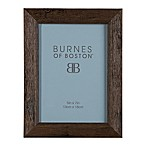 Burnes of Boston 5-Inch x 7-Inch Basic Picture Frame in Espresso