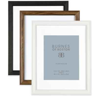 Burnes of Boston 8-Inch x 10-Inch Matted Basic Picture Frame