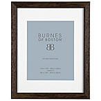 Burnes of Boston 8-Inch x 10-Inch Matted Basic Picture Frame in Espresso