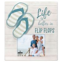 Malden® 8-Inch x 10-Inch Flip Flop Photo Frame