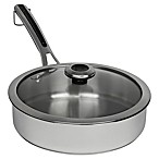 Revere® Copper Confidence Core™ 3 qt. Stainless Steel Covered Sauté Pan