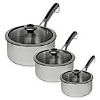 Revere® Copper Confidence Core™ 3 qt. Stainless Steel Covered Sauce Pot