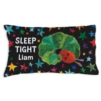 Very Hungry Caterpillar Sleep Tight Pillowcase in Black