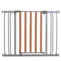 Dreambaby Cosmopolitan Pressure Mount Security Gate with Two Extensions in Metal/Wood