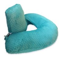 One Z™ Nursing Pillow with Teal Slipcover