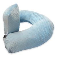 One Z™ Nursing Pillow with Blue Slipcover
