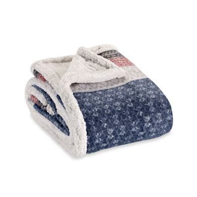 Buy Sherpa Blanket Throw from Bed Bath & Beyond