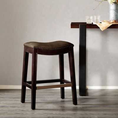 Buy Upholstered Saddle Stools From Bed Bath Amp Beyond