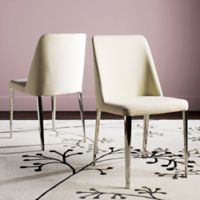 Safavieh Baltic Linen Side Chairs in Beige (Set of 2)
