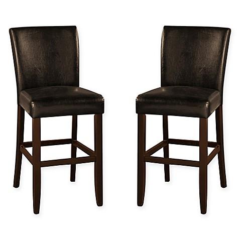 Buy American Heritage Adrianna Bar Stool In Brown Set Of