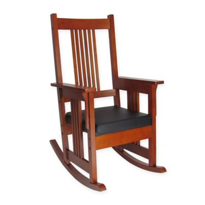 Wayborn Mission Style Rocking Chair In Oak