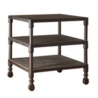 Madison Park Hales Hales End Table in Grey