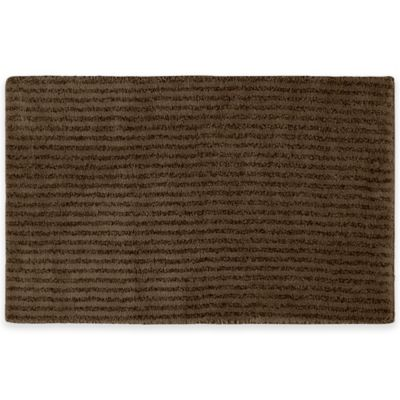 Sheridan Soft 24 Inch X 40 Inch Bath Rug In Chocolate