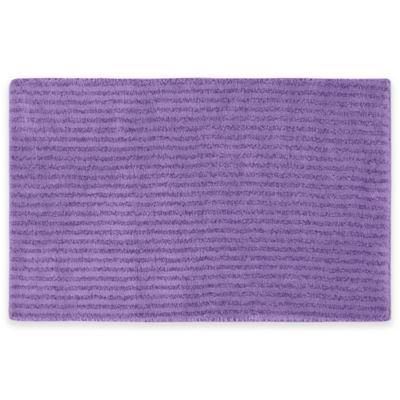 Sheridan Soft 24 Inch X 40 Inch Bath Rug In Purple