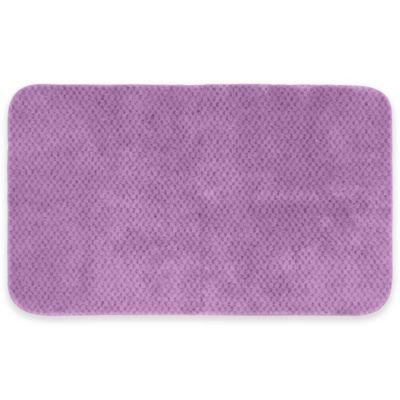 Cabernet Bath Rug in Purple