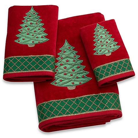 Christmas Tree Bath Towel Bed Bath Amp Beyond