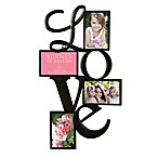 Burnes of Boston 4-Photo  Love  Collage Frame