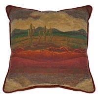 Austin Horn® Classics Desert Sunset Square Throw Pillow in Rust/Gold