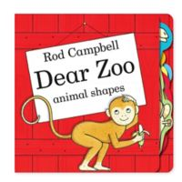 """Dear Zoo Animal Shapes"" Board Book by Rod Campbell"