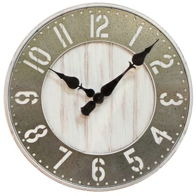 sterling u0026 noble wood wall clock