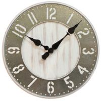 Sterling & Noble™ Wood Wall Clock