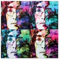 Metal Art Studio Pop Art John Lennon Wall Clock