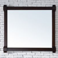 James Martin Furniture Brittany 43-Inch Mirror in Mahogany